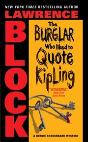 The burglar who liked to quote kipling cover image