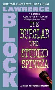 The burglar who studied spinoza cover image