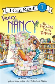 The dazzling book report cover image