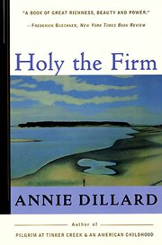 Holy the firm : for soprano and piano cover image