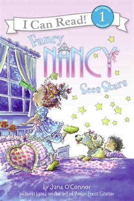 Cover image for Fancy Nancy Sees Stars