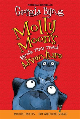 Cover image for Molly Moon's Hypnotic Time Travel Adventure