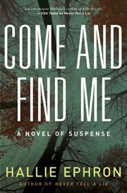 Come and find me cover image