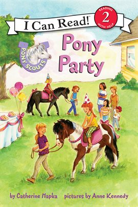 Cover image for Pony Scouts: Pony Party