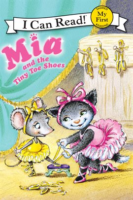 Cover image for Mia and the Tiny Toe Shoes