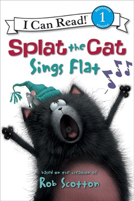 Cover image for Splat the Cat Sings Flat