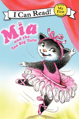 Cover image for Mia and the Too Big Tutu