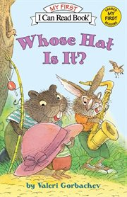 Whose hat is it? cover image