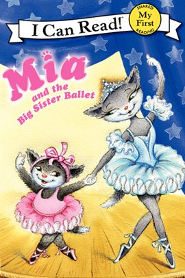 Cover image for Mia and the Big Sister Ballet