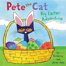 Pete the Cat Big Easter Adventure, book cover