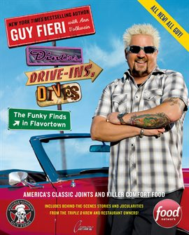 Cover image for Diners, Drive-Ins, and Dives: The Funky Finds in Flavortown