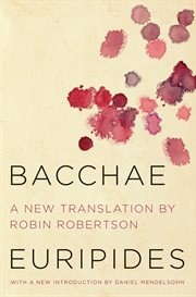 The bacchae cover image