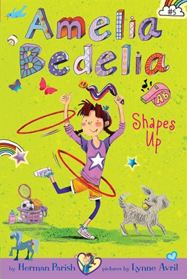 Cover image for Amelia Bedelia Shapes Up