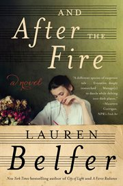 And after the fire : a novel cover image