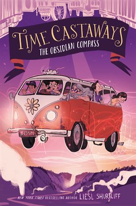 Cover image for Time Castaways #2: The Obsidian Compass