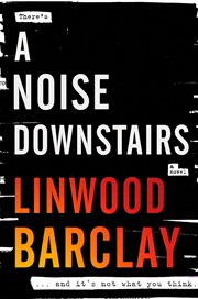A noise downstairs : a novel cover image