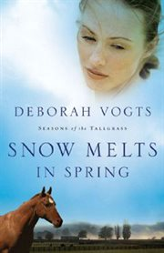 Snow melts in spring cover image