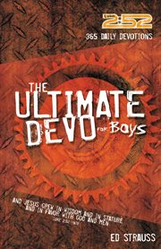 The ultimate devo for boys cover image