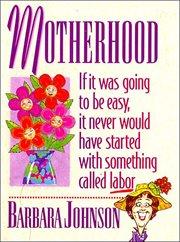 Motherhood mini book cover image