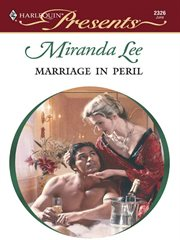 Marriage in peril cover image