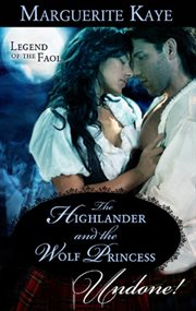 The highlander and the wolf princess cover image