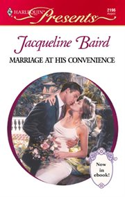 Marriage at his convenience cover image
