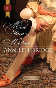 More than a mistress cover image