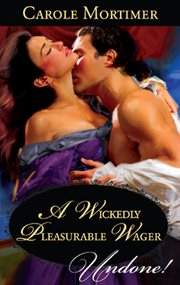 A wickedly pleasurable wager cover image