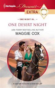 One desert night cover image