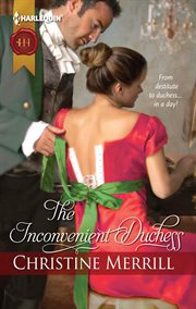 The inconvenient duchess cover image