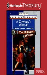 A cowboy's woman cover image
