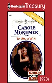 To woo a wife cover image