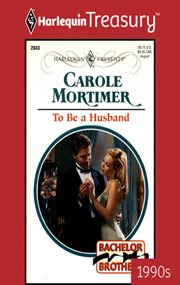 To be a husband cover image