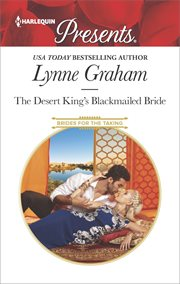 The desert king's blackmailed bride cover image