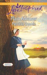 Plain admirer cover image