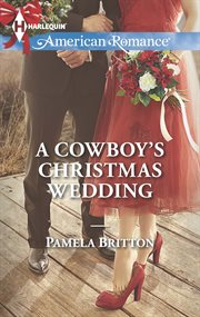 A cowboy's Christmas wedding cover image