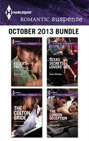 Harlequin Romantic Suspense October 2013 Bundle