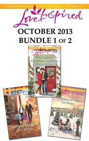 Harlequin Love inspired October 2013. Bundle 1 of 2 cover image