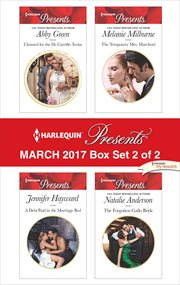 Harlequin presents march 2017 - box set 2 of 2 cover image