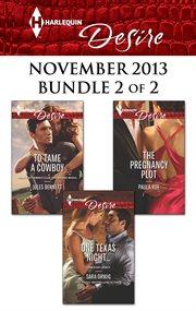 Harlequin Desire November 2013. Bundle 2 of 2 cover image