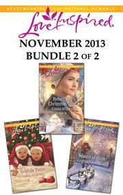 Harlequin love inspired november 2013. Bundle 2 of 2 cover image