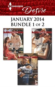 Harlequin desire January 2014. Bundle 1 of 2 cover image