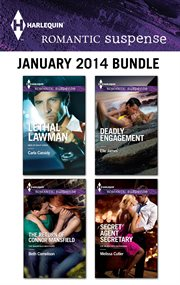 Harlequin romantic suspense January 2014 bundle cover image