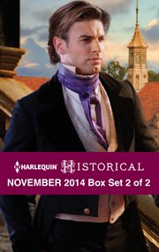 Harlequin historical November 2014. Box set 2 of 2 cover image
