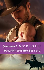 Harlequin intrigue January 2015. Box set 1 of 2 cover image