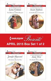 Harlequin presents April 2015. Box set 1 of 2 cover image