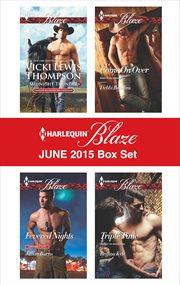 Harlequin blaze. June 2015 box set cover image