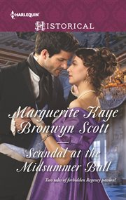 Scandal at the midsummer ball cover image
