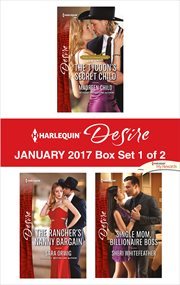 Harlequin desire January 2017. Box set 1 of 2 cover image
