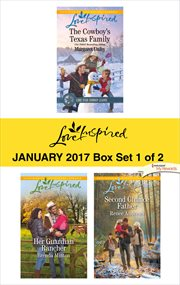 Harlequin love inspired. Box Set 1 of 2, January 2017 cover image